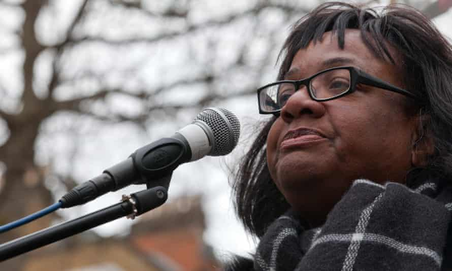 Diane Abbott, one of the 10 MPs identified by a whistleblower as having been monitored by police.