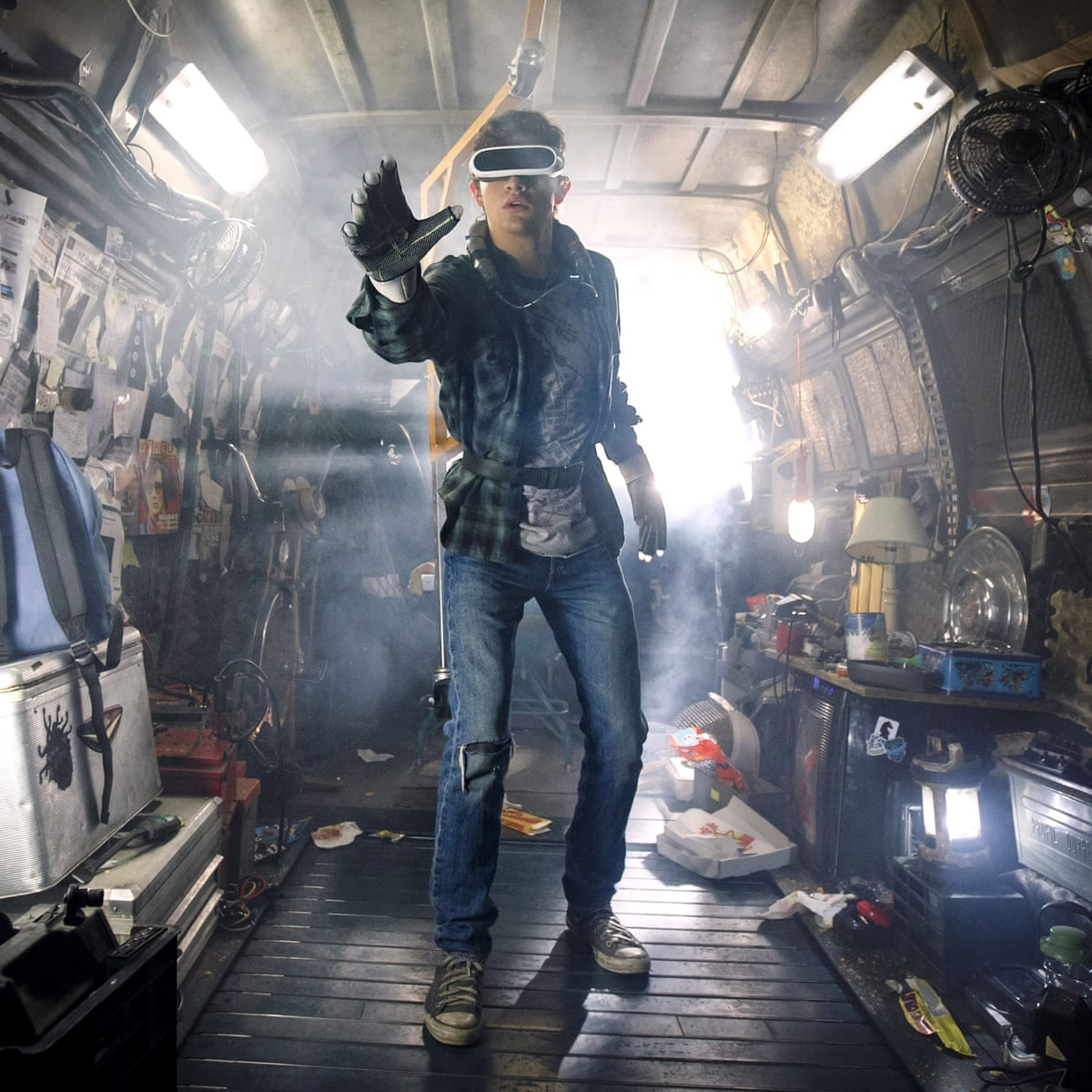 Spielberg S Ready Player One In 2045 Virtual Reality Is Everyone S Saviour Film The Guardian