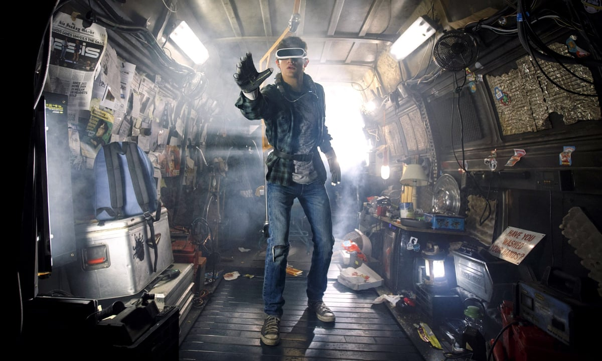 Spielberg S Ready Player One In 2045 Virtual Reality Is Everyone S Saviour Ready Player One The Guardian
