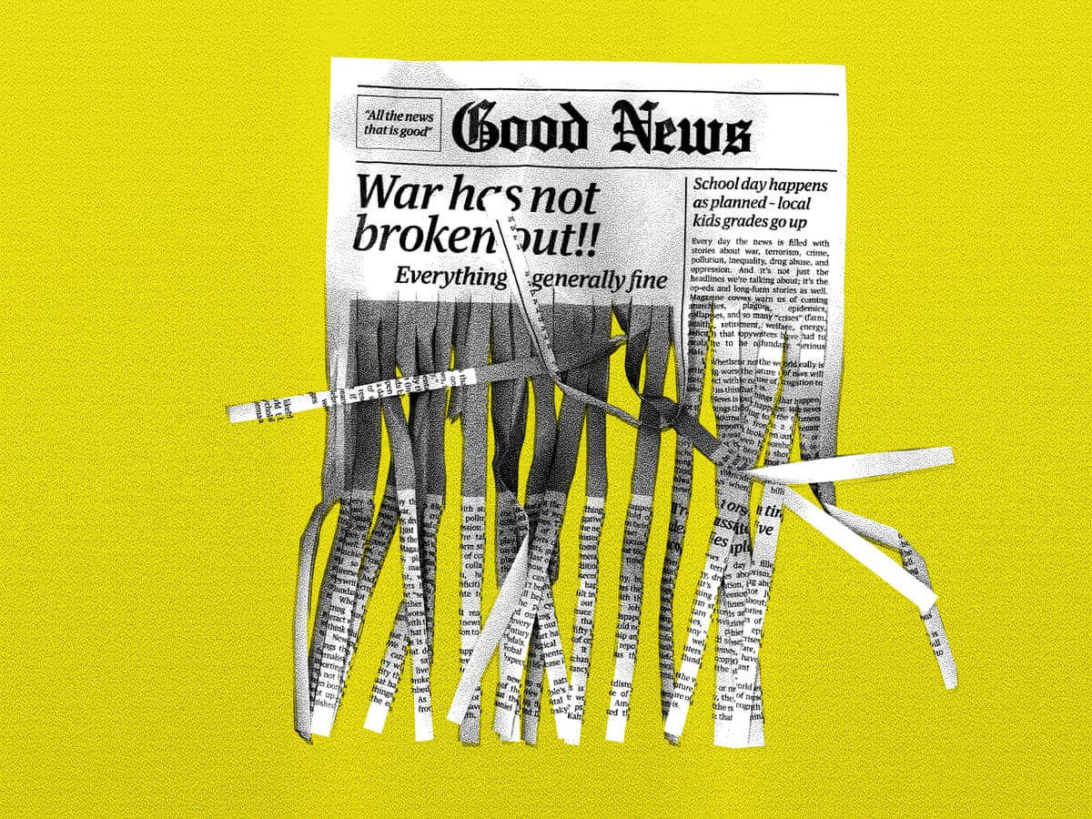 The media exaggerates negative news. This distortion has consequences |  Psychology | The Guardian
