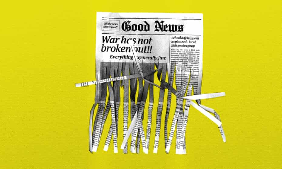 All the good news that's too good print