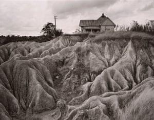 Eroded Soil, Faulkner Country, near Oxford, Mississippi, 1940