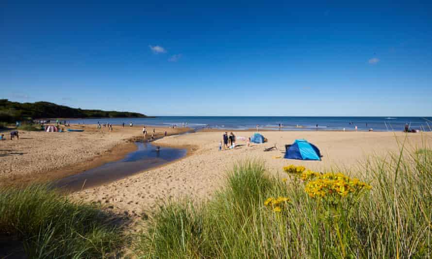 Lligwy Bay on the island of Anglesey.