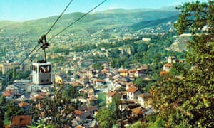 Before the storm … the cable car in its heyday.