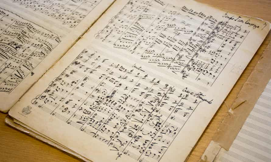 Two manuscripts featuring handwritten and signed music from English composer Gustav Holst, which had been missing for more than 100 years.