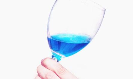 Gïk blue wine