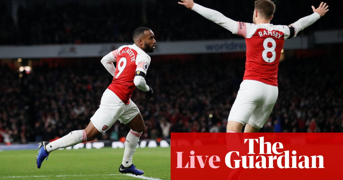 a5ac67a80 Arsenal 1-1 Liverpool  Premier League – as it happened