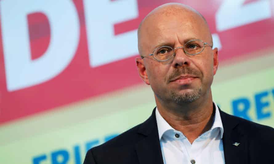 Andreas Kalbitz, the leading AfD Brandenburg candidate.