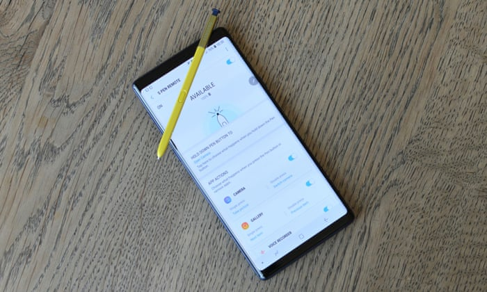 Samsung Galaxy Note 9 review: the do-everything phone | Technology