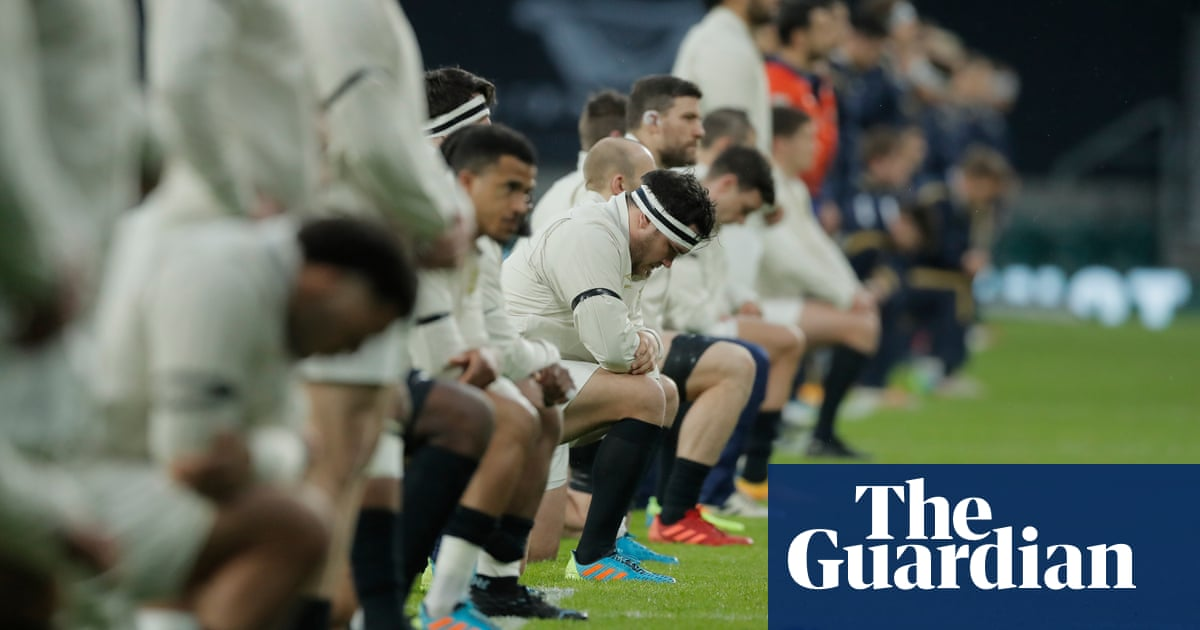 Englands Anthony Watson condemns double standard over taking a knee