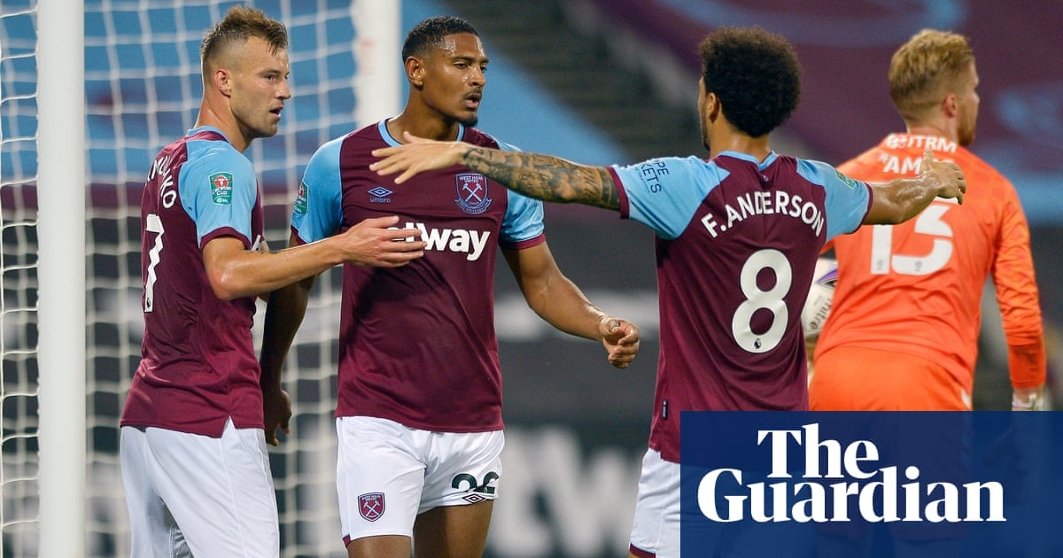 Haller hits two as West Hams £99m front three sink Charlton in Carabao Cup