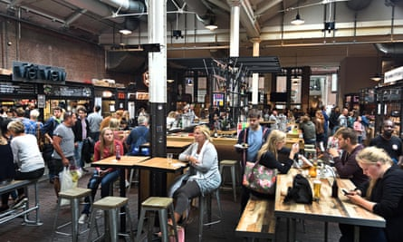 Foodhallen hosts food stalls to suit both child and adult palates.