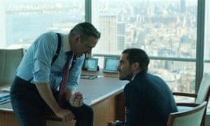 Jake Gyllenhaal with Chris Cooper in Demolition