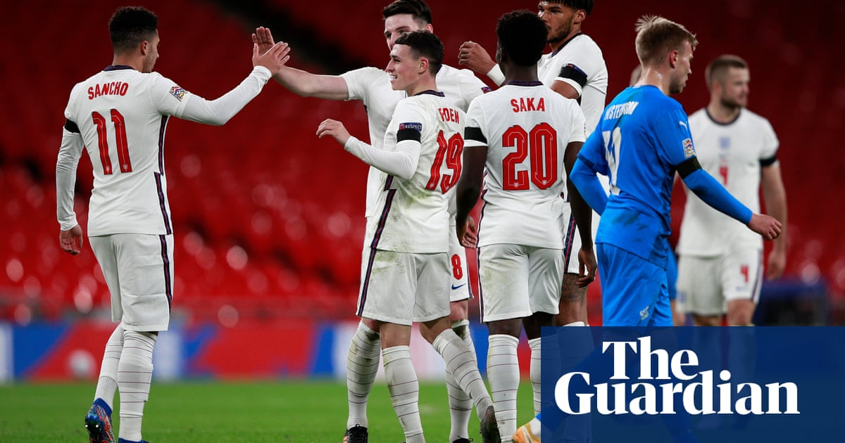 Grealish, Foden and Saka offer Anglo tiki-taka that Southgate can build on