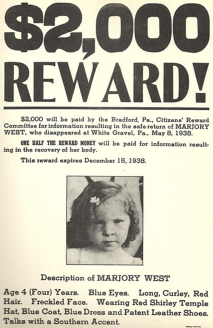 The great unsolved mystery of the missing Marjorie West   US news