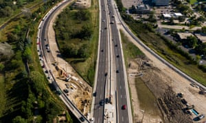 Many road-building projects are said to be long overdue in the US.