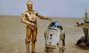 Prof Tony Dyson, who created R2-D2 (right) has died.
