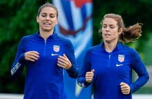 Alex Morgan and Kelley O'Hara
