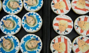 Donald Trump and Hillary Clinton cookies are on sale at the Oakmont Bakery