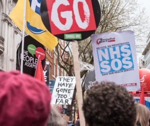 People's Assembly National Demonstration16th April 2016The Tories have gone too far: An estimated 50,000 people marched to Trafalgar Square for Homes, Health, Jobs and Education | End Austerity Now | Cameron Must GO! in a protest organised by The People's Assembly.