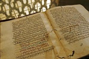 Tarhib oua Tarhib ancient book in Qarawiyyin Library, Fez
