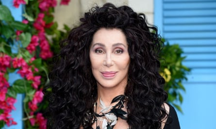 Cher at the world premiere of Mamma Mia! Here We Go Again in London.