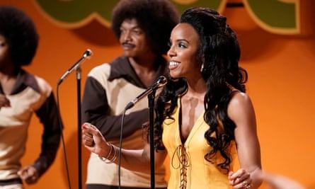 Kelly Rowland as Gladys Knight in American Soul.