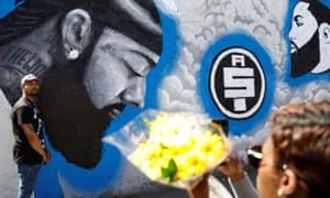 Fans pay tribute after rapper Nipsey Hussle killed in LA shooting