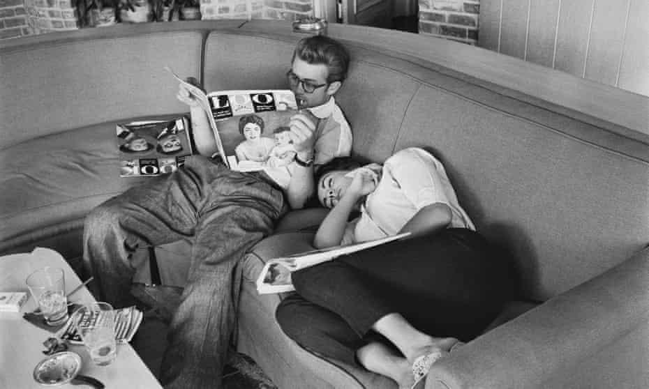 James Dean and Elizabeth Taylor. Elizabeth Taylor: A Life in Ten Pictures.