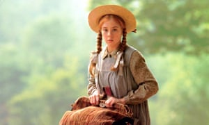 Megan Follows at Anne of Green Gables.