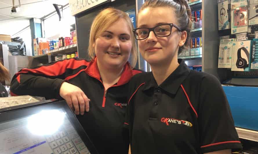 Colleen Murphy and Hannah McPoyle