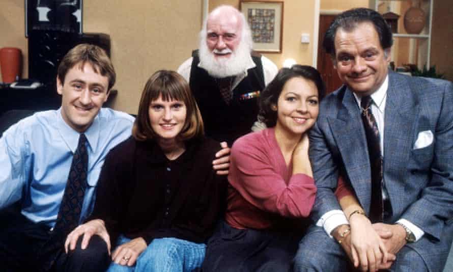 From left … Nicholas Lyndhurst, Gwyneth Strong, Buster Merryfield, Tessa Peake-Jones and David Jason.
