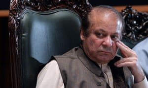 The ousted Pakistani prime minister Nawaz Sharif, convicted of corruption, returned to the country earlier this month.