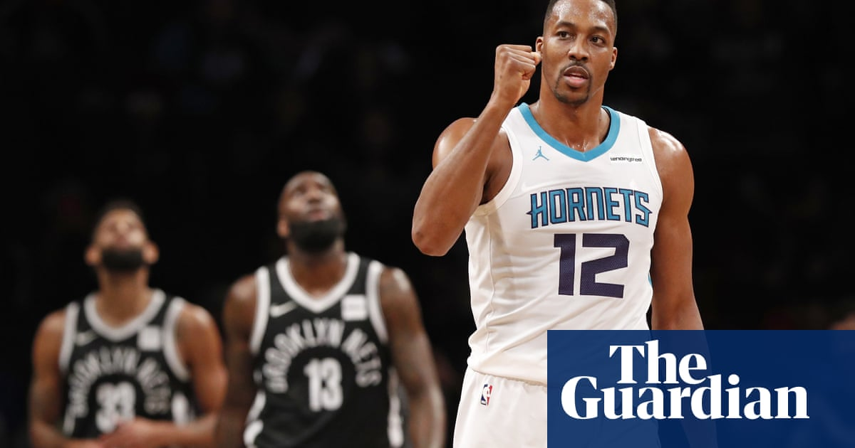 0d0d8425b27 Dwight Howard joins fourth team in four years with trade to Brooklyn Nets