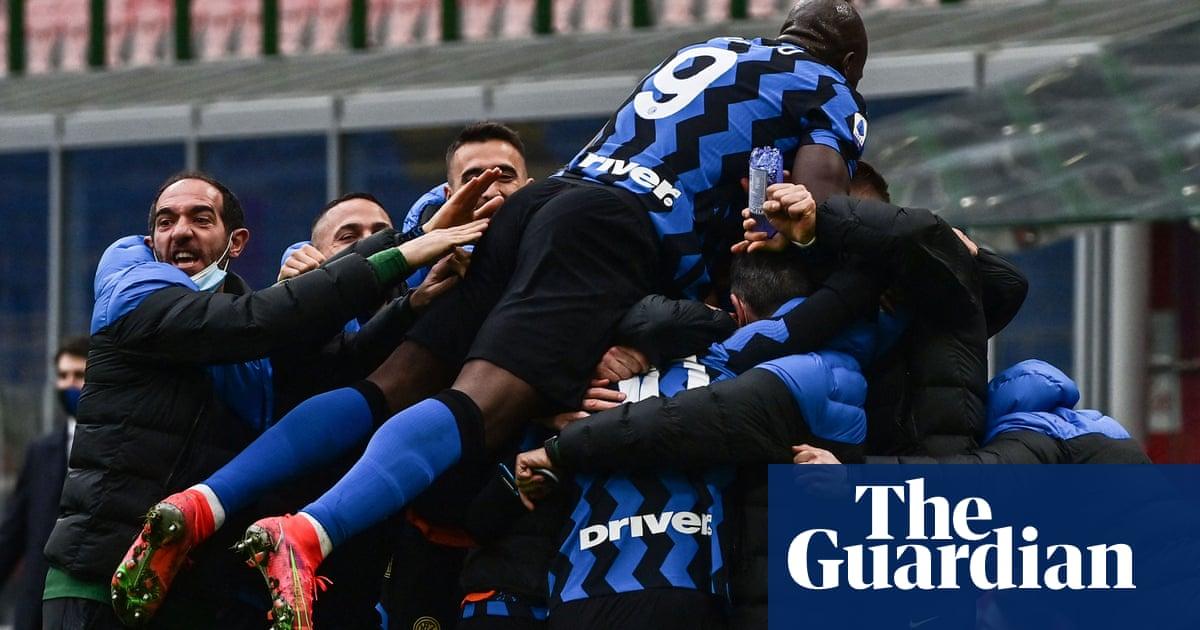 Inter take control of title race as Romelu Lukakus stunner caps Milan derby win