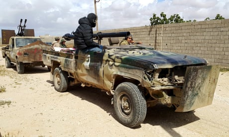 UK denies plan to send troops to support new Libyan government