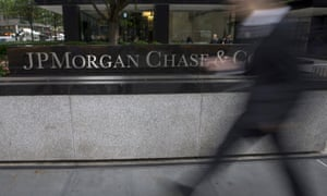 JP Morgan's Manhattan headquarters.