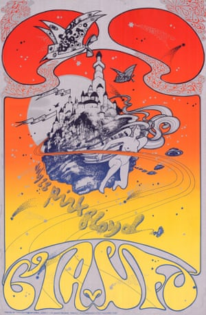 Kiss the sky psychedelic posters of the 60s and 70s in for Poster psichedelici