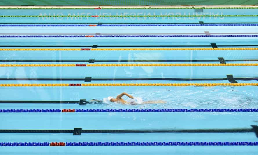 The Australian Olympic trials in Adelaide