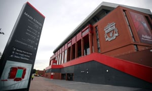The exterior of the new Main Stand