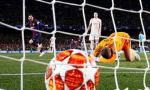 Even David de Gea, so often rock-solid for Manchester United, was at fault in defeat to Barcelona, and the Spanish side comfortably progressed in the Champions League.