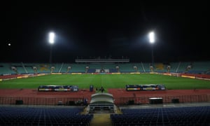 England will take on Bulgaria at the Vasil Levski Stadium on Monday night.