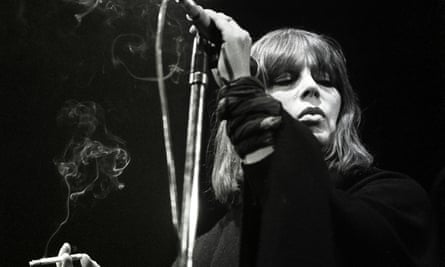Nico on stage in 1984.