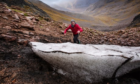 Weatherwatch: UK's oldest snow patch clings on – but for how long?