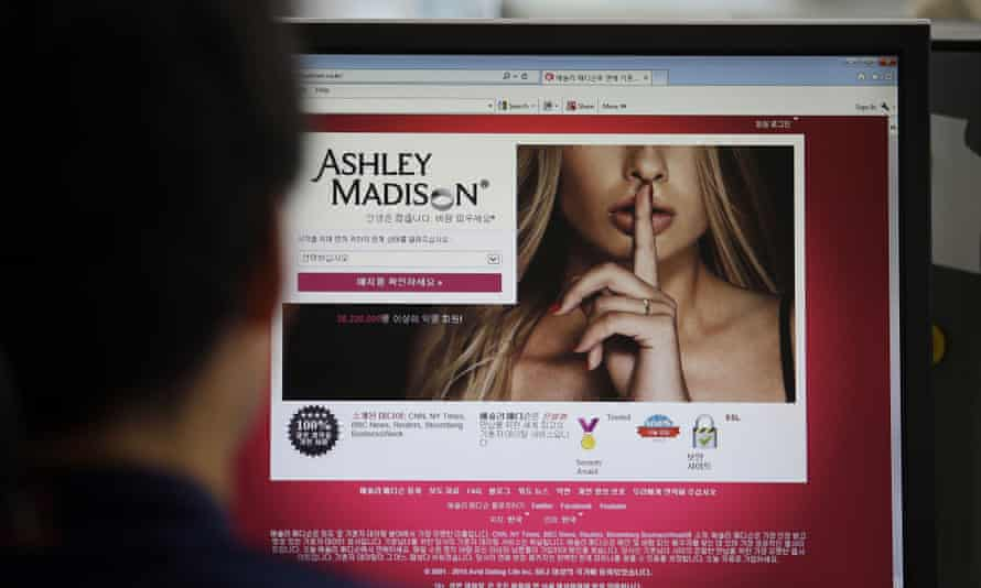 Ashley Madison's Korean website