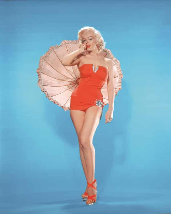 Marilyn Monroe and her 'famous figure' in How to Marry a Millionaire.