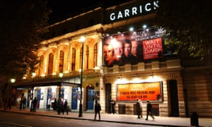The Garrick Theatre in Charing Cross Road, London, was threatened with demolition in 1971.
