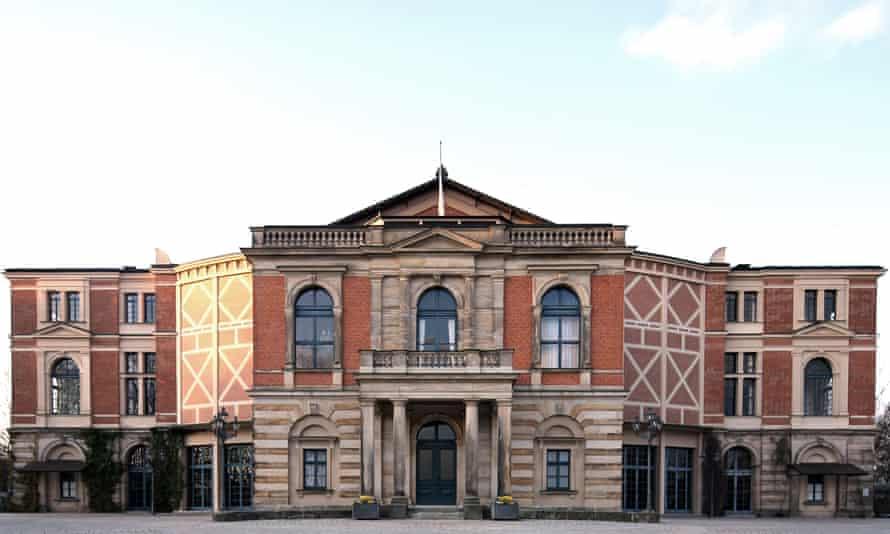Bayreuth opera house, Germany.