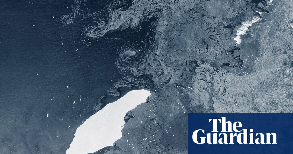 Giant Antarctic iceberg on collision course with British territory of South Georgia