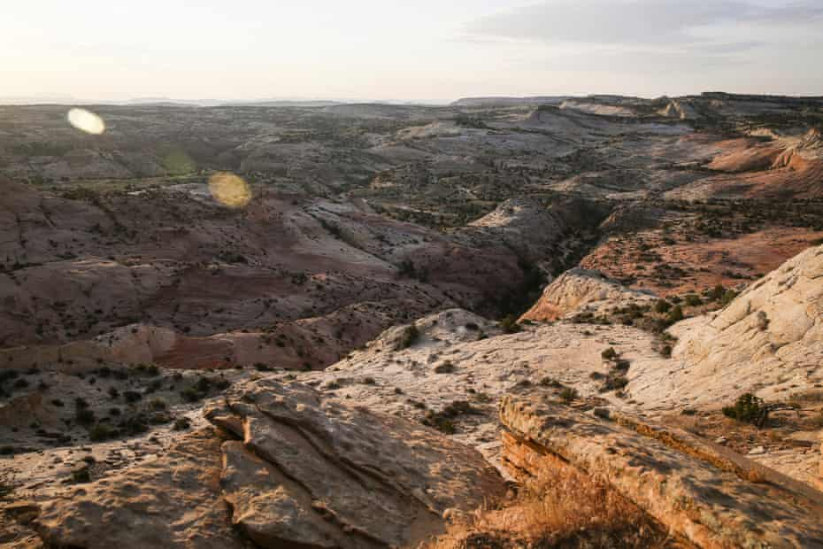 The Grand Staircase Escalante national monument in Utah.